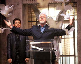 Hand of God was renewed despite not scoring particularly highly on IMDb
