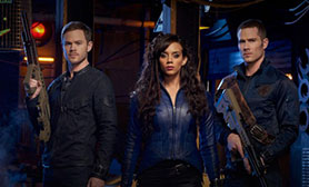 Killjoys focuses on a trio of bounty hunters