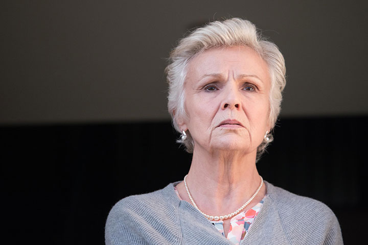 Julie Walters play's Finchley's faithful wife