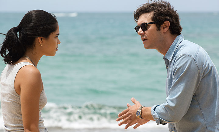Otmara Marrero and The OC's Adam Brody (right) star