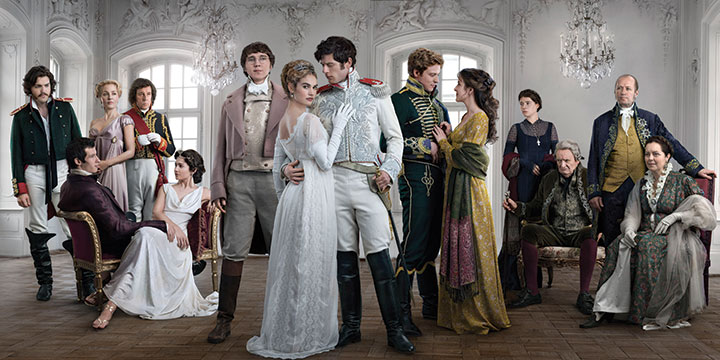 War and Peace boasted a star-studded ensemble cast