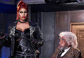 The Rocky Horror Picture Show stars Laverne Cox (left)
