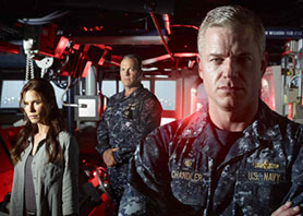 The Last Ship stars Eric Dane (right)