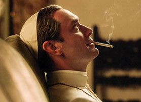 Jude Law's performance impressed critics who saw the first two episodes of The Young Pope
