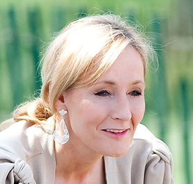 JK Rowling (photo by Daniel Ogren)