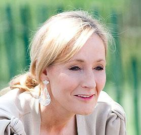 JK Rowling (photo by Daniel Ogren)
