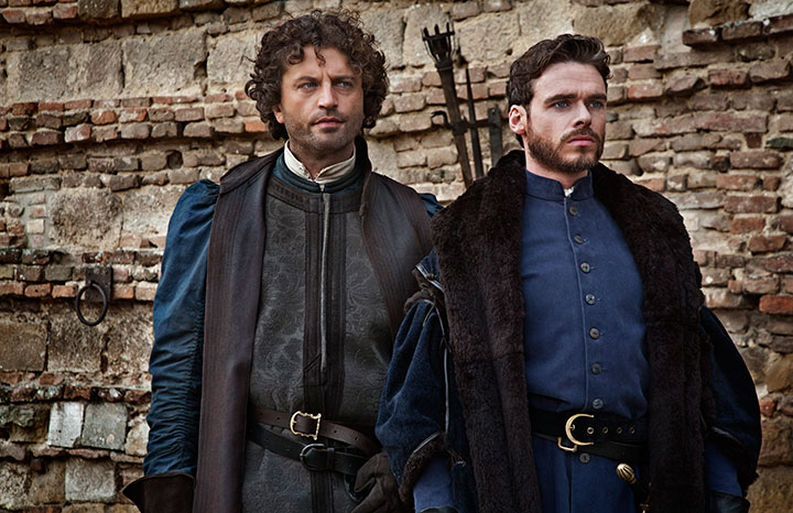Game of Thrones' Richard Madden (right) also stars