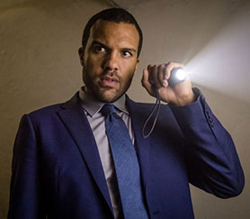 O-T Fagbenle in The Five