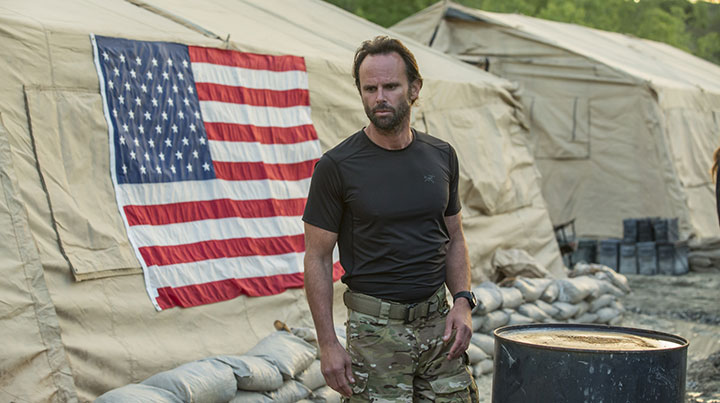 Walton Goggins in Six, which launches on History next year