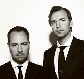 Bjorn Stein (left) and Måns Marlind