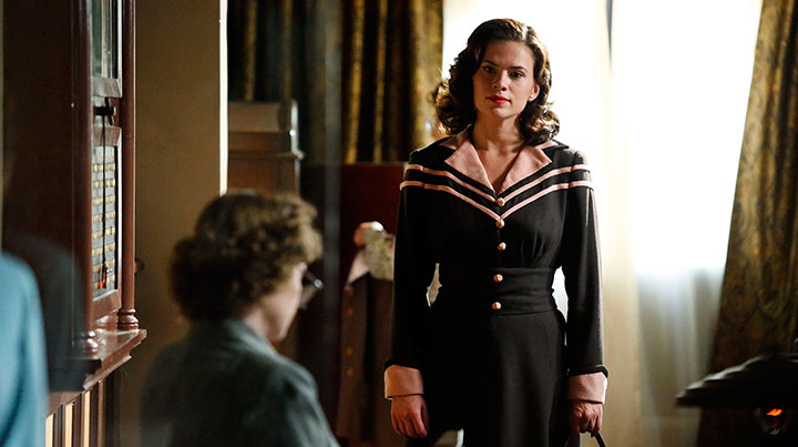 Atwell played the lead in Marvel's Agent Carter for two seasons