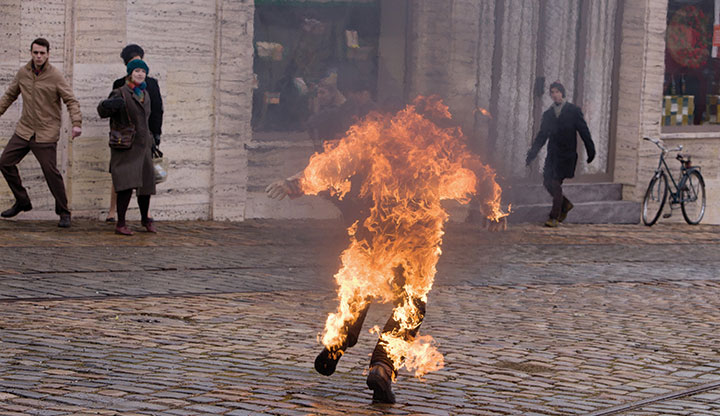 Hulík's previous HBO Europe series Burning Bush met critical acclaim