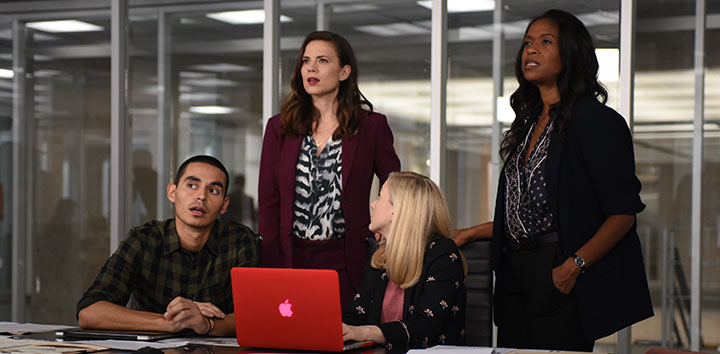 Conviction is halfway through its debut season on ABC