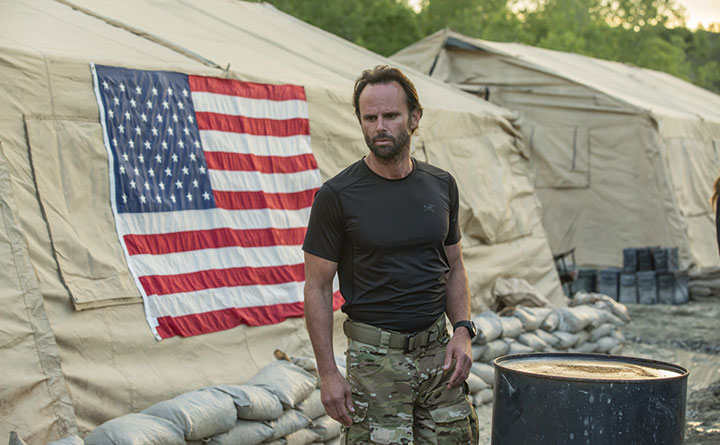 Walton Goggins (The Hateful Eight) is among the cast of Six