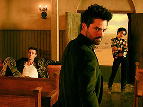 Preacher has been given a second season on AMC