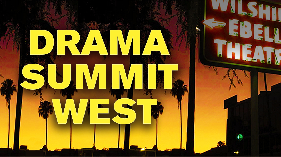 Drama Summit West agenda live. Register now!