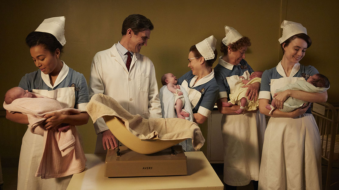 Delivering Call the Midwife